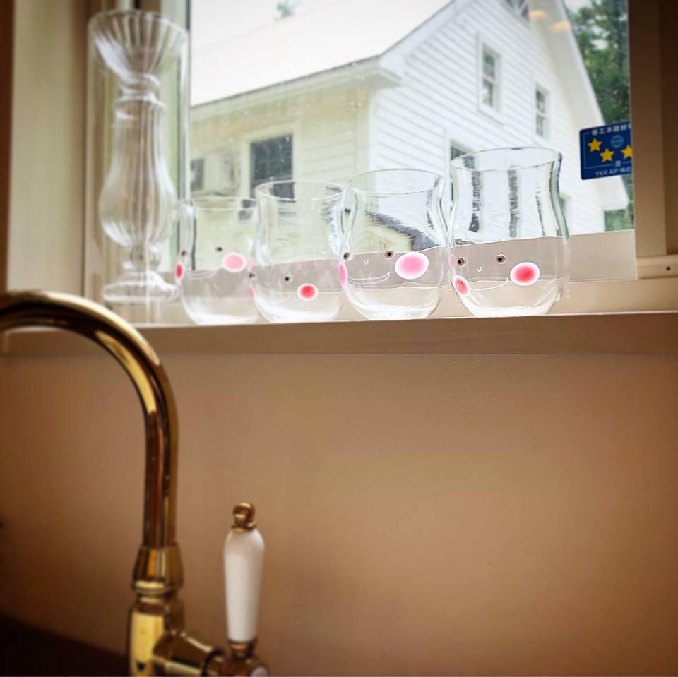 ガラスのアイテム